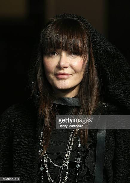 Annabelle Neilson attends the VIP Premiere of 'A Bigger Splash' hosted by AnOther magazine and Dior at The Curzon Mayfair on October 21 2015 in...