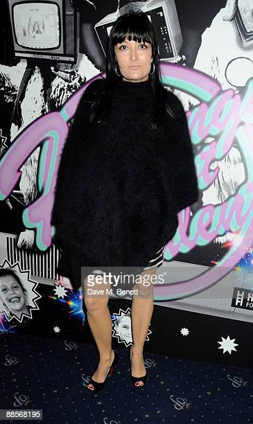 Annabelle Nielson attends the charity fundraising evening 'Hoping's Got Talent' in aid of the Hoping For Palestine charity at Cafe de Paris on June...