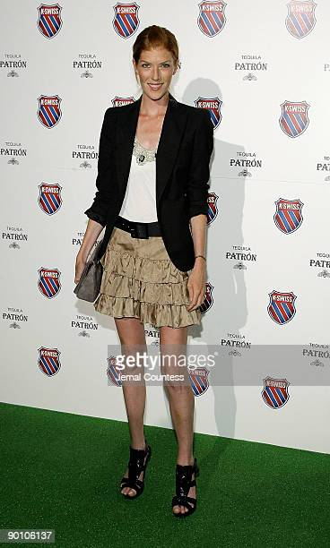 Annabelle Vartanian attends the Play Nice runway show and party hosted by KSwiss to kick off open week fever at Skyline Gallery on August 26 2009 in...