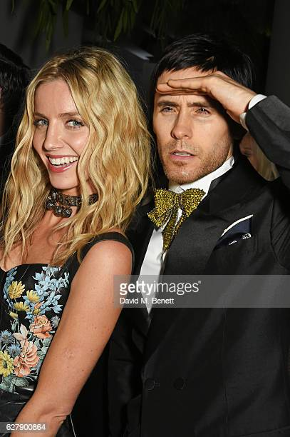 Annabelle Wallis and Jared Leto attend The Fashion Awards 2016 after party hosted by The British Fashion Council at 180 The Strand on December 5 2016...