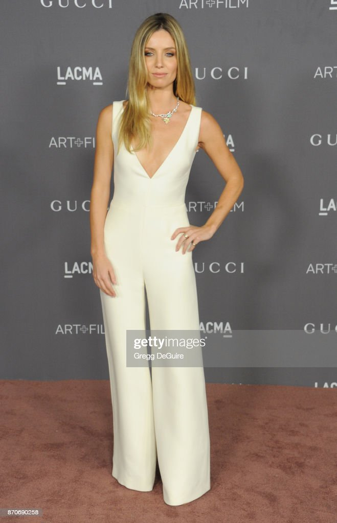 Annabelle Wallis arrives at the 2017 LACMA Art + Film Gala honoring Mark Bradford and George Lucas at LACMA on November 4, 2017 in Los Angeles, California.