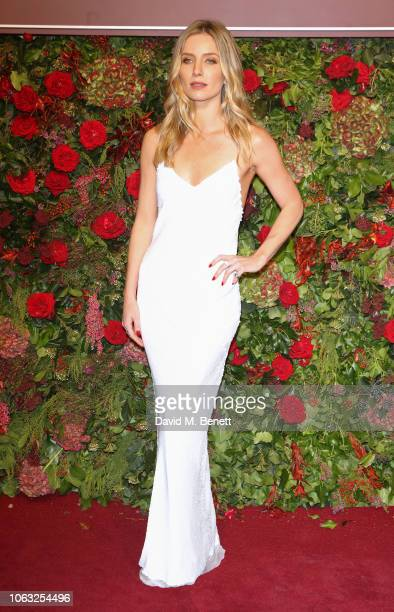 Annabelle Wallis arrives at The 64th Evening Standard Theatre Awards at the Theatre Royal Drury Lane on November 18 2018 in London England