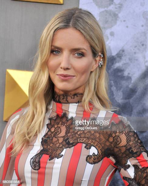 Annabelle Wallis arrives at the premiere of Warner Bros Pictures' King Arthur Legend Of The Sword at TCL Chinese Theatre on May 8 2017 in Hollywood...