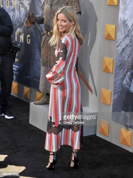 Annabelle Wallis arrives at the premiere of Warner Bros Pictures' 'King Arthur Legend Of The Sword' at TCL Chinese Theatre on May 8 2017 in Hollywood...