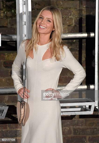 Annabelle Wallis arrives for the Stella McCartney Resort collection and menswear launch at Abbey Road Studios on November 10 2016 in London England