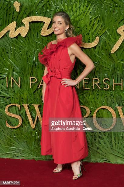 Annabelle Wallis attend the Fashion Awards 2017 In Partnership With Swarovski at Royal Albert Hall on December 4 2017 in London England