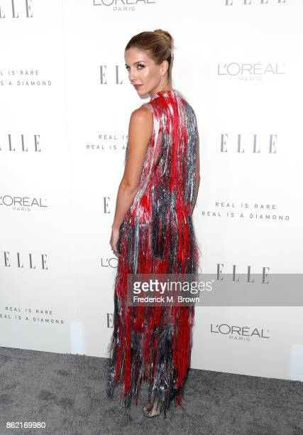 Annabelle Wallis attends ELLE's 24th Annual Women in Hollywood Celebration at Four Seasons Hotel Los Angeles at Beverly Hills on October 16 2017 in...