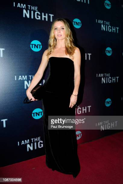 Annabelle Wallis attends New York Premiere Of TNT's 'I Am the Night' at Metrograph on January 22 2019 in New York City