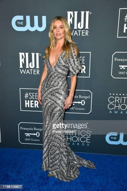Annabelle Wallis attends the 25th Annual Critics' Choice Awards at Barker Hangar on January 12, 2020 in Santa Monica, California.