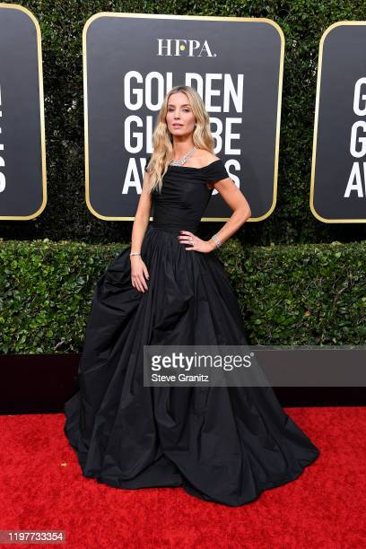 Annabelle Wallis attends the 77th Annual Golden Globe Awards at The Beverly Hilton Hotel on January 05 2020 in Beverly Hills California