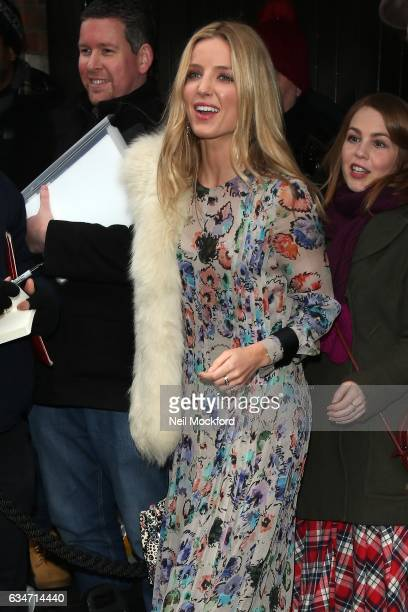 Annabelle Wallis attends the BAFTAs Working Title VIP Brunch at the Chiltern Firehouse on February 11 2017 in London England