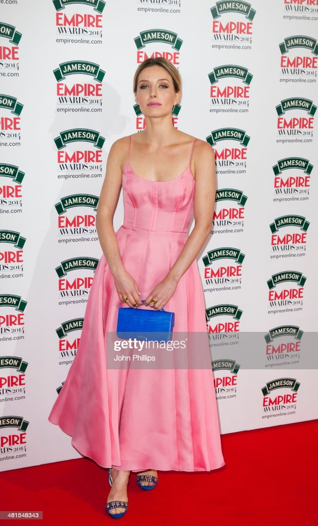 Annabelle Wallis attends the Jameson Empire Film Awards at The Grosvenor House Hotel on March 30, 2014 in London, England.