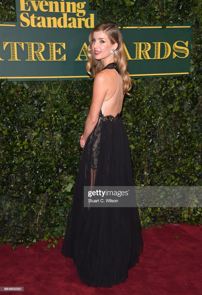Annabelle Wallis attends the London Evening Standard Theatre Awards at the Theatre Royal on December 3, 2017 in London, England.