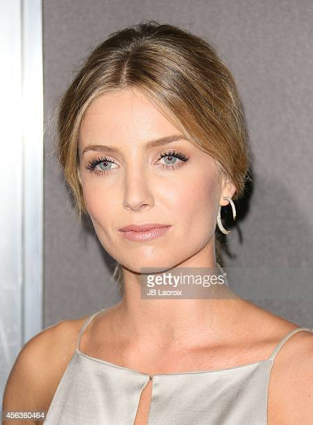 Annabelle Wallis attends the Los Angeles special screening of New Line Cinema's Annabelle on September 29 in Hollywood California