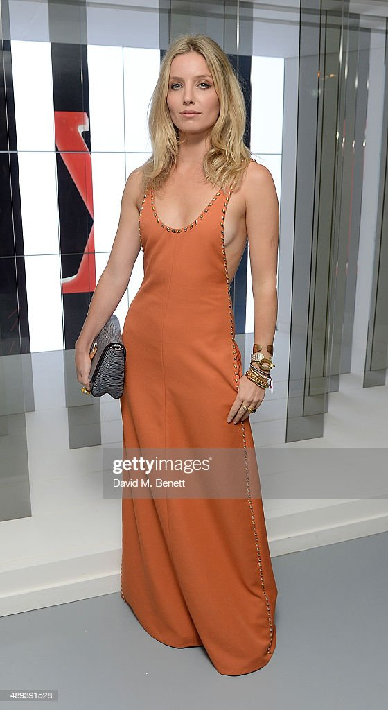 Annabelle Wallis attends the Louis Vuitton Series 3 VIP launch during London Fashion Week SS16 on September 20, 2015 in London, England.