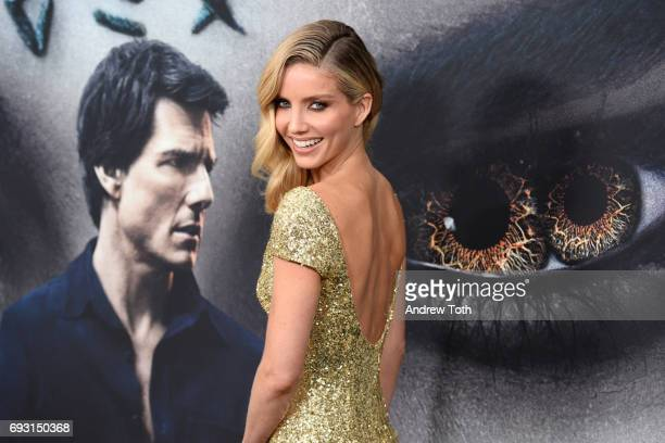 Annabelle Wallis attends The Mummy New York fan event at AMC Loews Lincoln Square on June 6 2017 in New York City