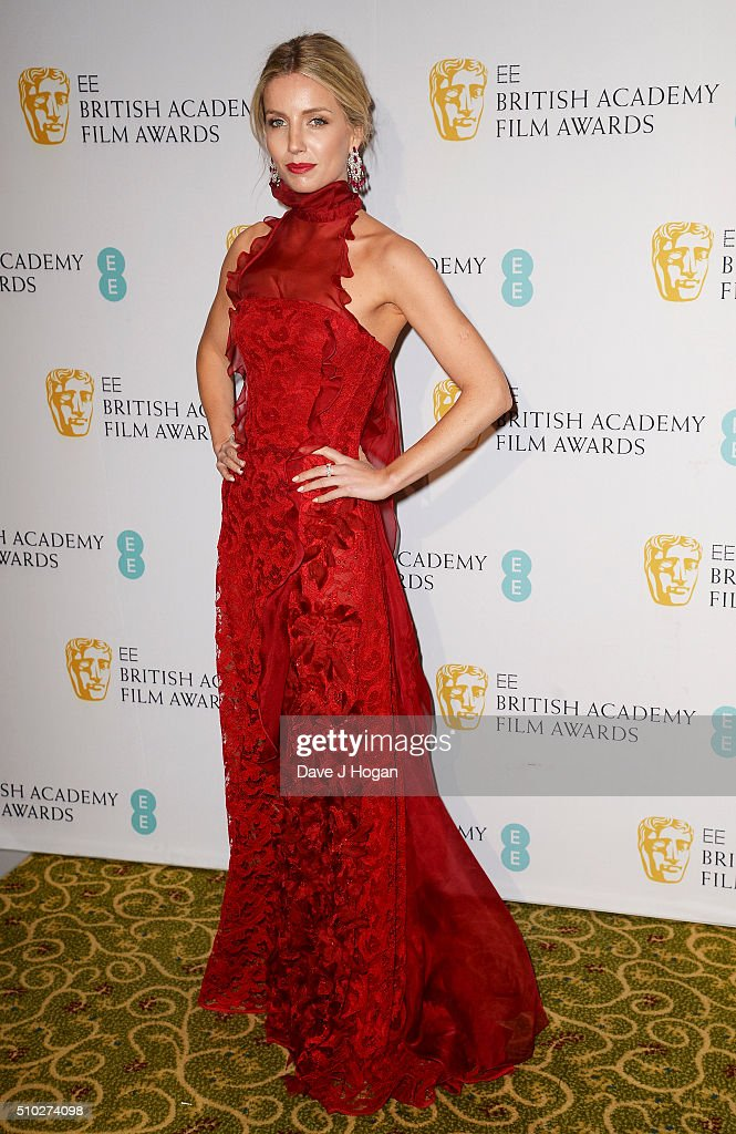 Annabelle Wallis attends the official After Party Dinner for the EE British Academy Film Awards at The Grosvenor House Hotel on February 14, 2016 in London, England.