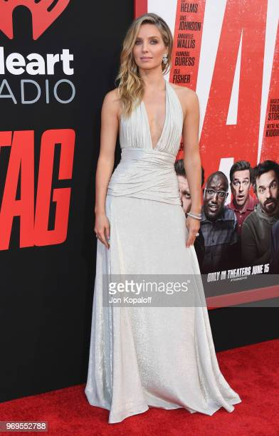Annabelle Wallis attends the premiere of Warner Bros Pictures And New Line Cinema's Tag at Regency Village Theatre on June 7 2018 in Westwood...