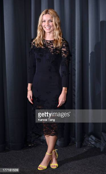 Annabelle Wallis attends the screening of 'Peaky Blinders' held at the BFI Southbank on August 21 2013 in London England