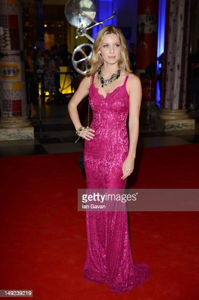 Annabelle Wallis attends the Sports For Peace Fundraising Ball at The VA on July 25 2012 in London England