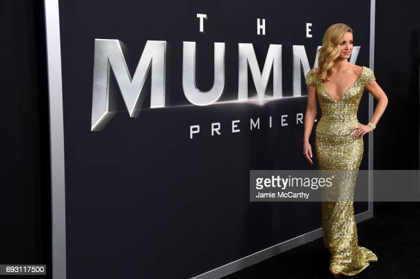 Annabelle Wallis attends the 'The Mummy' New York Fan Event at AMC Loews Lincoln Square on June 6 2017 in New York City