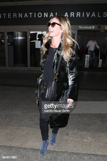 Annabelle Wallis is seen at LAX on September 27 2017 in Los Angeles California