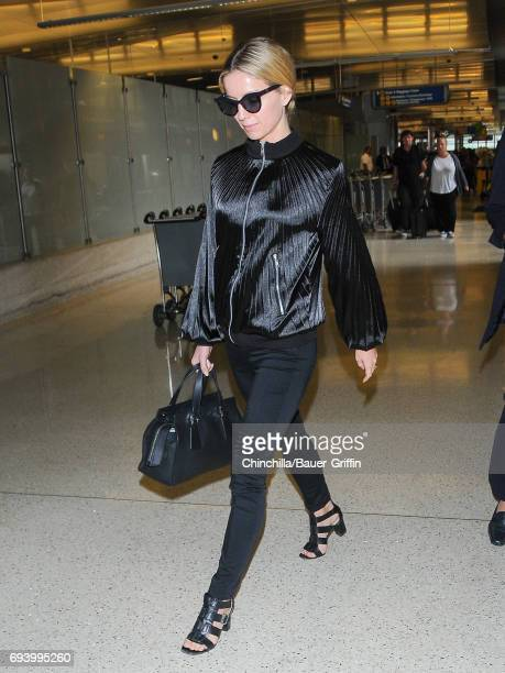 Annabelle Wallis is seen at Los Angeles International Airport on June 08 2017 in Los Angeles California
