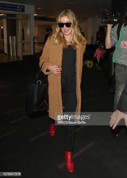 Annabelle Wallis is seen on December 14 2018 in Los Angeles California