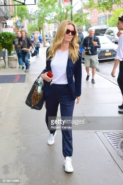 Annabelle Wallis seen out and about in Manhattan on June 13 2018 in New York City