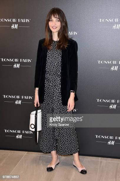 Annabelle Waters Belmondo attends the HM Flagship Opening Party as part of Paris Fashion Week on June 19 2018 in Paris France