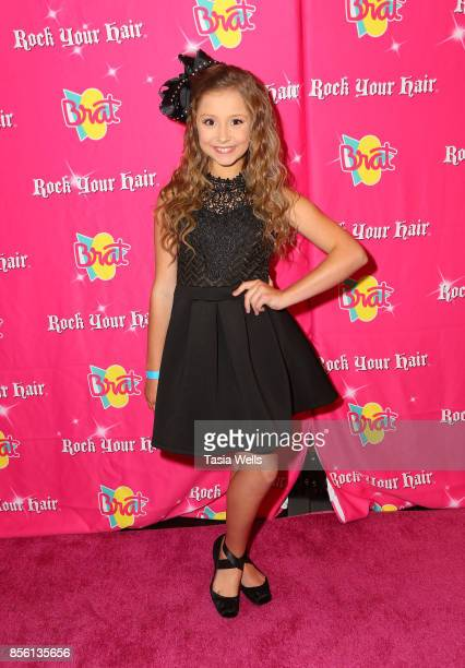 Annabelle Watkins at Rock Your Hair Presents Rock Back to School Concert Party on September 30 2017 in Los Angeles California