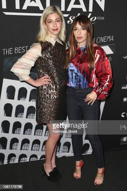 AnnabelleAttanasio and Sabrina Impacciatore attends the Cinema Italian Style'18 CINECITTÃ KEY A Celebration Of Italian Cinema at Hollywood Roosevelt...