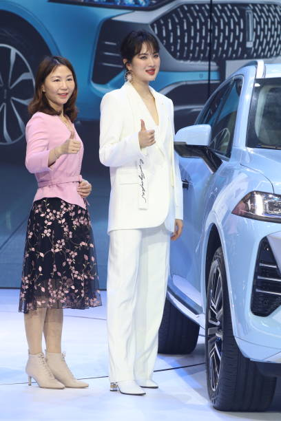 CHN: Annabel Yao Attends WEY Launch Event In Shanghai