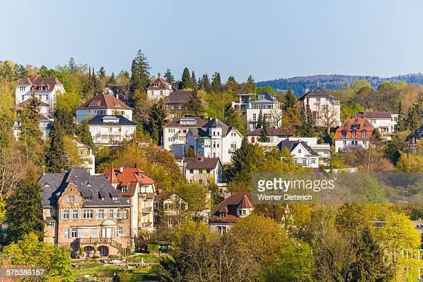 Annaberg villa quarter in Baden-Baden