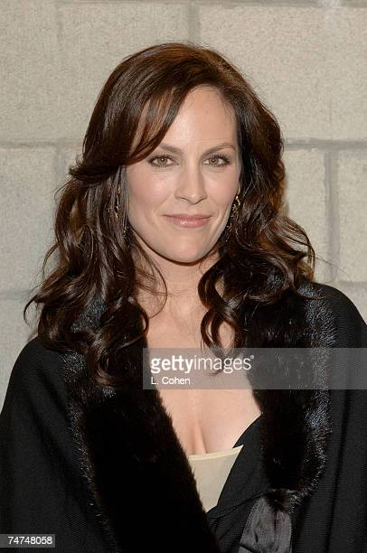 Annabeth Gish at the The Wind Tunnel in Pasadena California