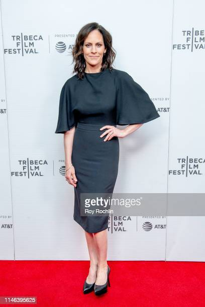 Annabeth Gish attends a screening of Charlie Says during the 2019 Tribeca Film Festival at Village East Cinema on May 01 2019 in New York City