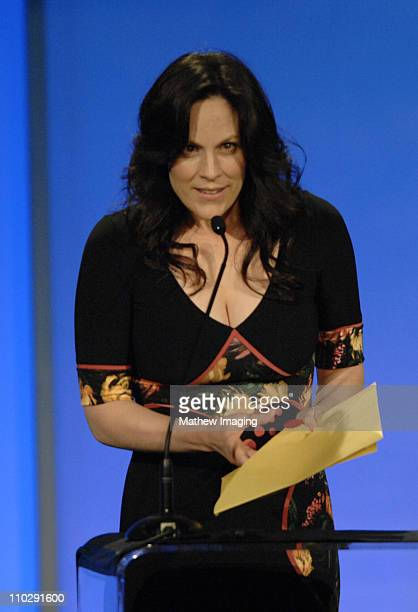 Annabeth Gish during 11th Annual Art Directors Guild Awards Inside