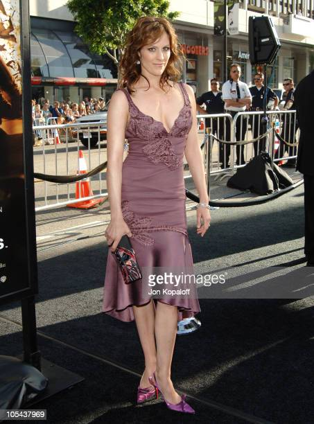 Annabeth Gish during Batman Begins Los Angeles Premiere Arrivals at Grauman's Chinese Theater in Hollywood California United States