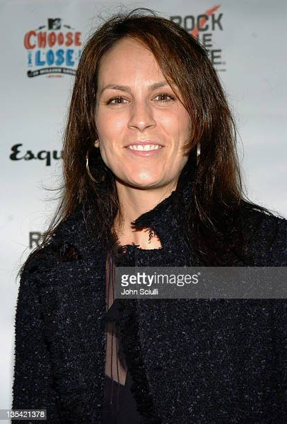 Annabeth Gish during Esquire House Hosts Young Hollywood Rock The Vote Party Arrivals at The Esquire House Los Angeles in Beverly Hills California...