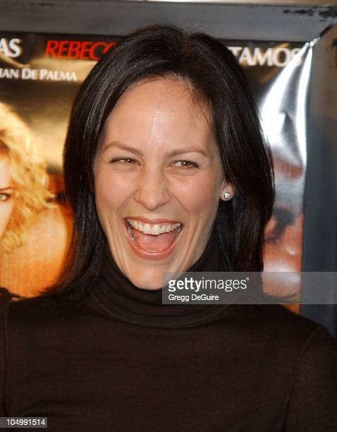 Annabeth Gish during Femme Fatale Los Angeles Premiere at Cinerama Dome in Hollywood California United States