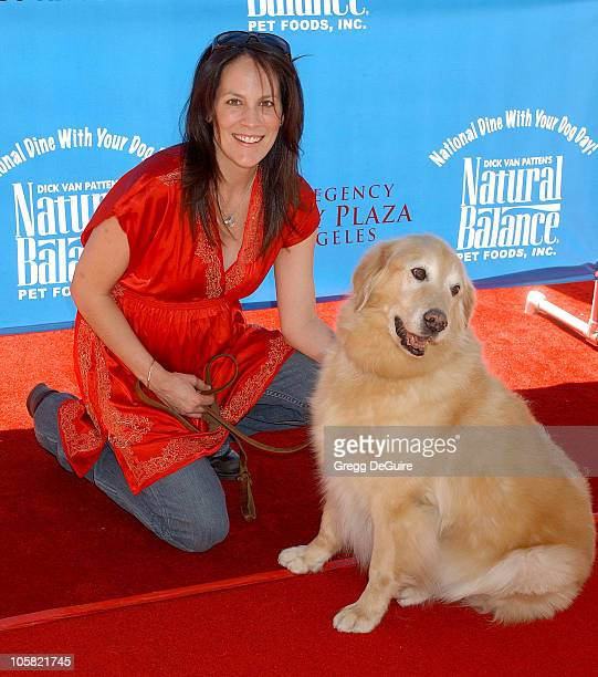 Annabeth Gish during KickOff Party for Dine With Your Dog Day at Hyatt Regency Century Plaza in Century City California United States