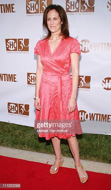 Annabeth Gish during Showtime Celebrates Its 30th Anniversary July 14 2006 at Loguercio Estate in Pasadena California United States