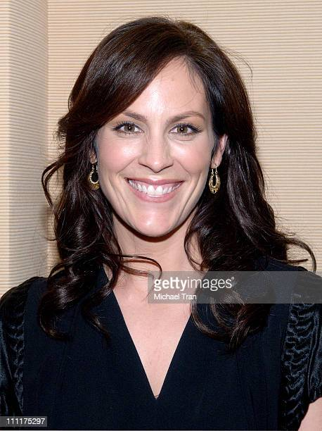 Annabeth Gish during Showtime Network TCA 2006 Winter Tour at RitzCarlton Hotel in Pasadena California United States