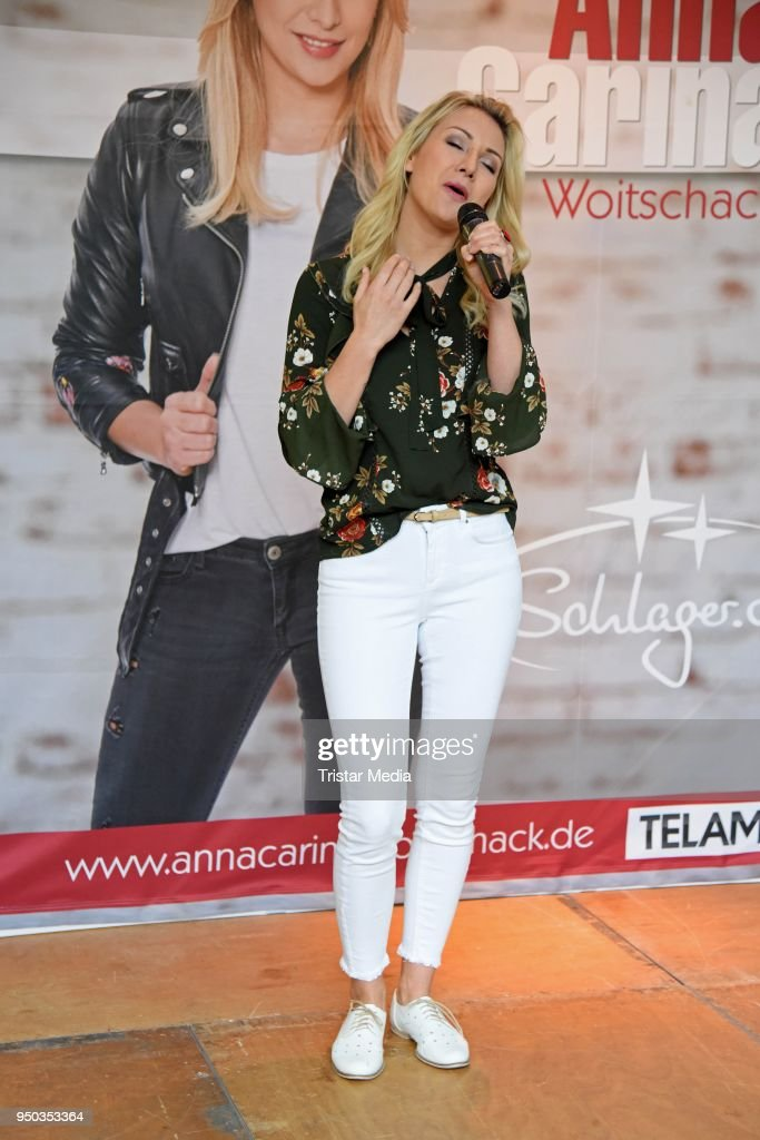 Anna-Carina Woitschack And Stefan Mross Promote New Album In Cottbus