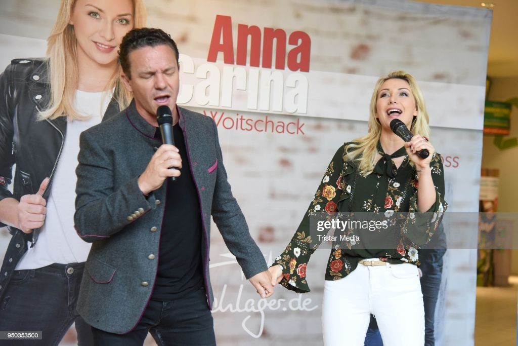 Anna-Carina Woitschack And Stefan Mross Promote New Album In Cottbus