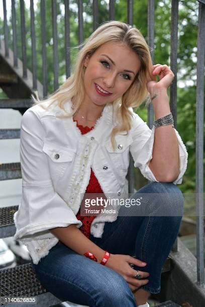 AnnaCarina Woitschack attends the Bild Race Day on May 1 2019 in Gelsenkirchen Germany
