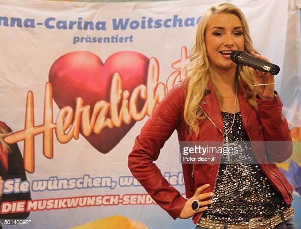 AnnaCarina Woitschack PromotionTour fr Single Nichts geht mehr und Autogrammstunde ECenter Schnebeck bei M a g d e b u r g SachsenAnhalt Deutschland...