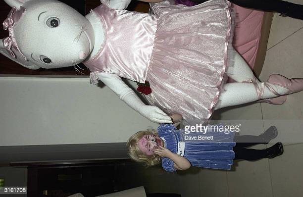 Annais daughter of Noel Gallagher at the Angelina Ballerina Nutcracker gala preparty on December 3rd 2002 at the St Martins hotel in London where the...