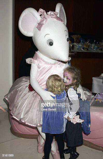Annais Gallagher at the Angelina Ballerina Nutcracker gala preparty on December 3rd 2002 at the St Martins hotel in London where the kids met with...