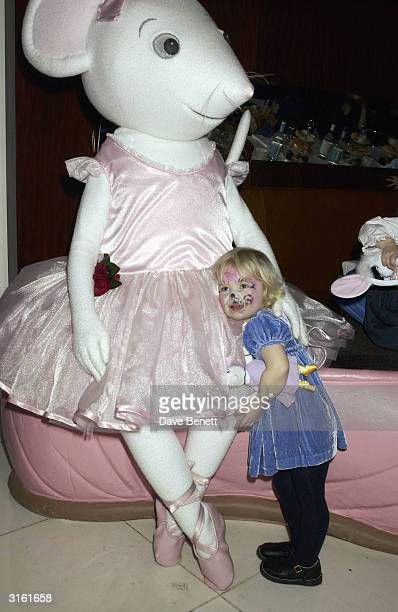 Annais Gallagher daughter of Noel Gallagher at the Angelina Ballerina Nutcracker gala preparty on December 3rd 2002 at the St Martins hotel in London...